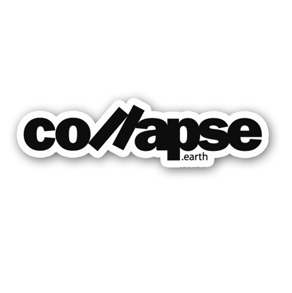 Picture of Collapse.earth Sticker